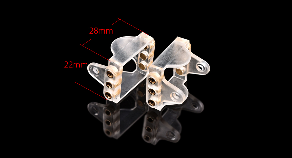 Bracket for RunCam Micro Sparrow 2 Pro