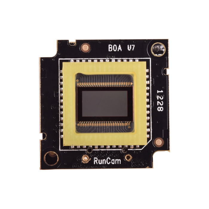 PCBs with the sensor for RunCam Eagle