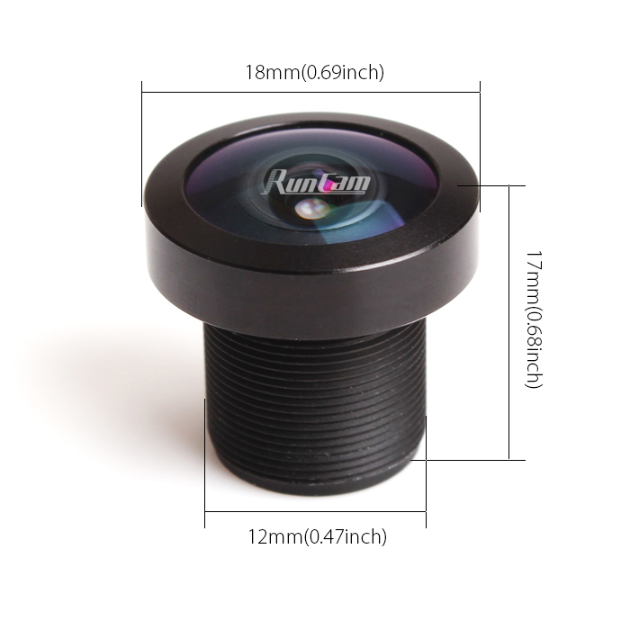 Lens for RunCam Owl Plus-www.securitycamera2000.com