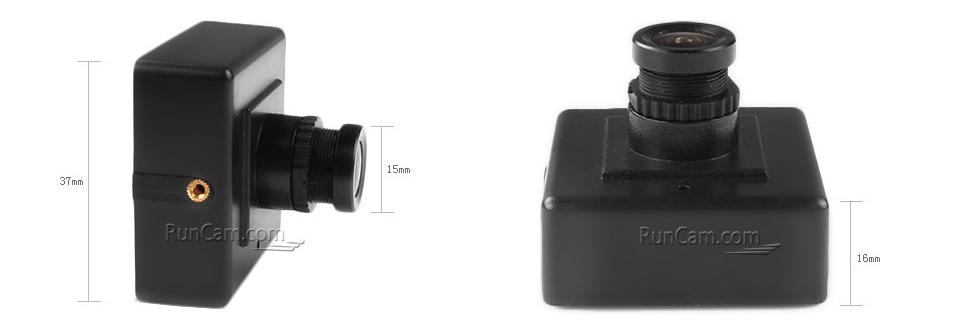 RunCam, 600TVL, Plastic Housing, FPV Camera