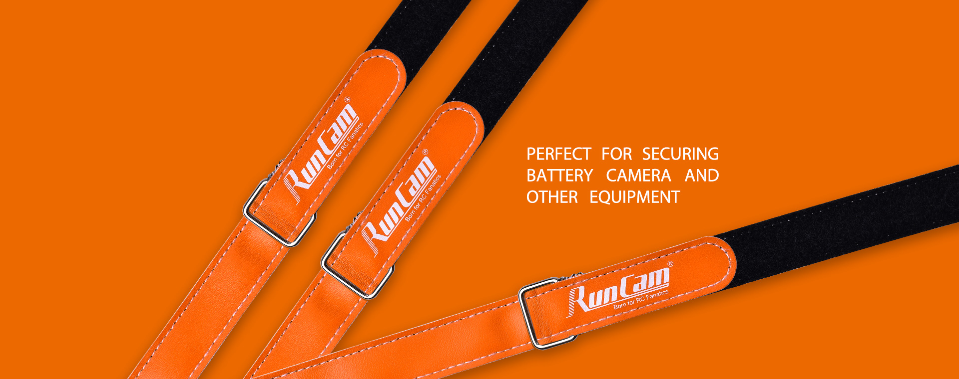 16 x 250mm, RunCam, Battery Tie Down Strap for RC Multirotor