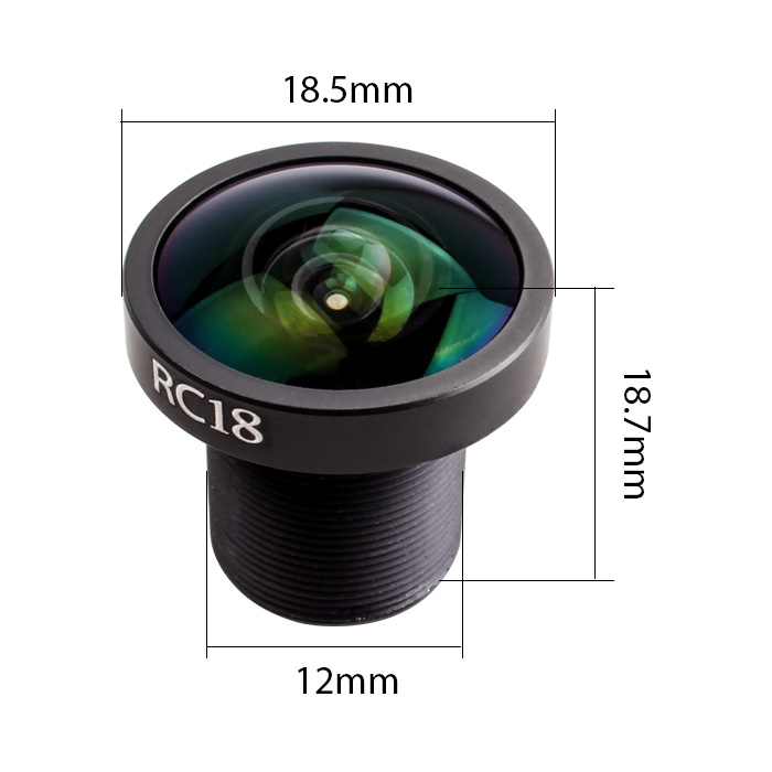 Runcam RC18, Wide Angle, FPV Camera Lens, for RunCam Sparrow, Swift
