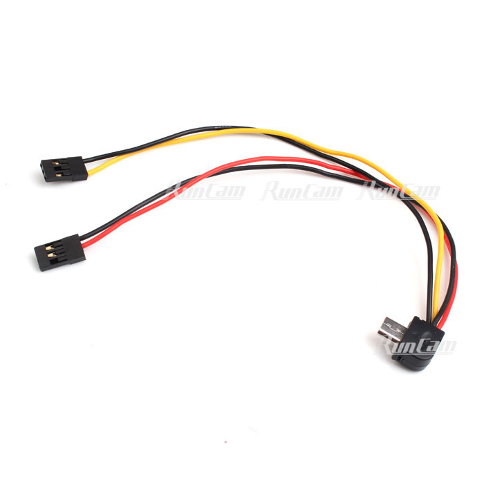 TV-out and power cable for RunCam 2/RunCam 3/RunCam Split - RunCam ...