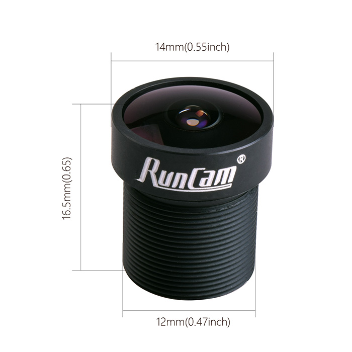 RunCam RC21 FPV, short Lens 2.1mm, FOV165 Wide Angle, for Swift Swift2 PZ0420 SKY