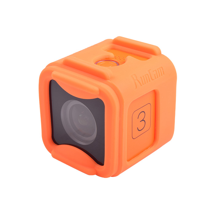 Silicone Frame, for RunCam 3, or ,Gopro Session