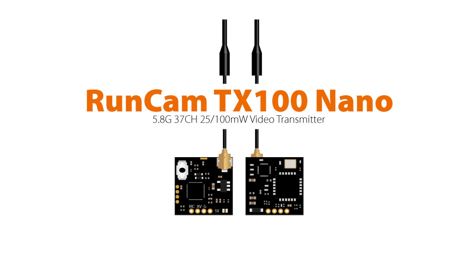 5.8G 37CH 25/100mW Video Transmitter